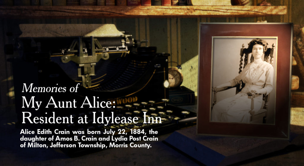 Alice Edith Crane at Idylease