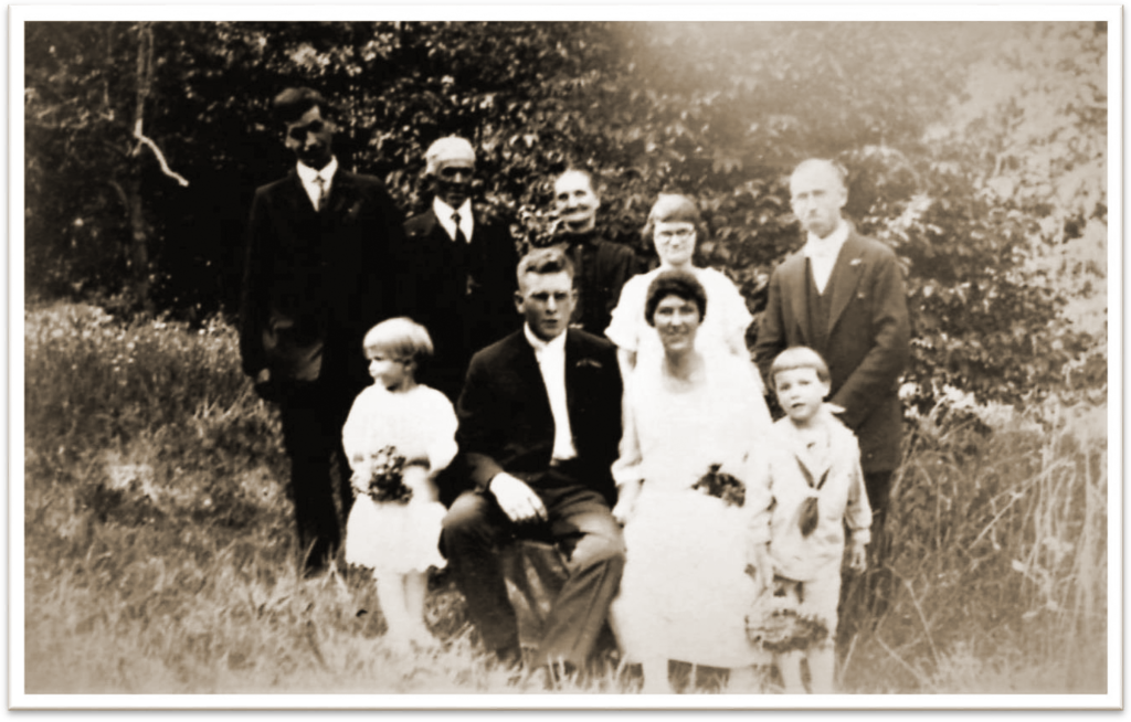 Sisco Crain Wedding in 1928